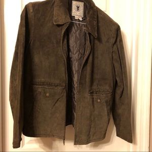 Brown Suede Jacket by adventures by the way